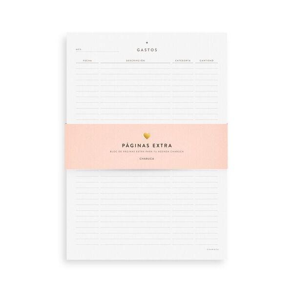 Bloc de gastos para tu Agenda semanal L