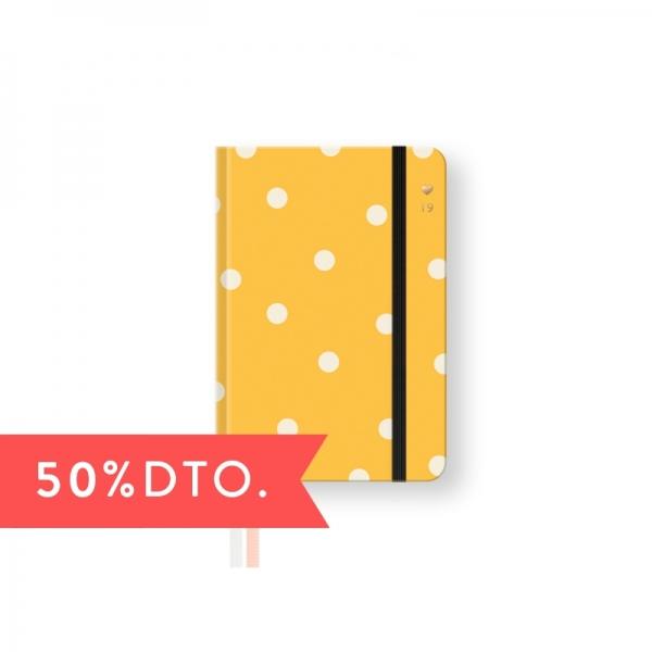 Agenda Semanal 2019. Mini. Amarilla