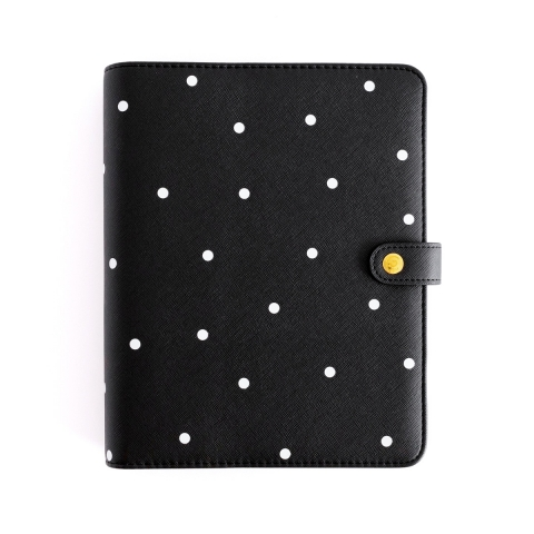 Planner personal. A5. Negro...