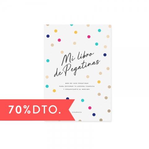 Libro de Pegatinas. Mi vida...