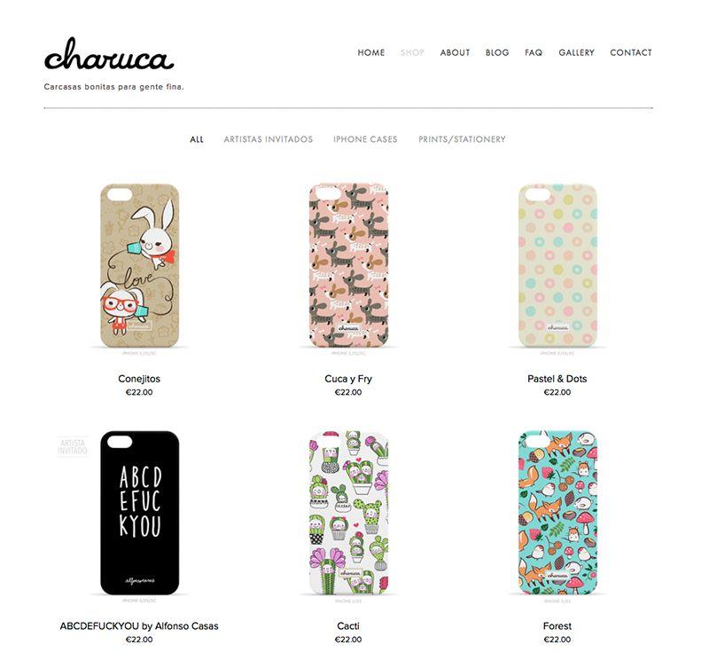 Aquí un pantallazo de mi tienda online. El color blanco de fondo y un diseño muy simple son apuesta segura.