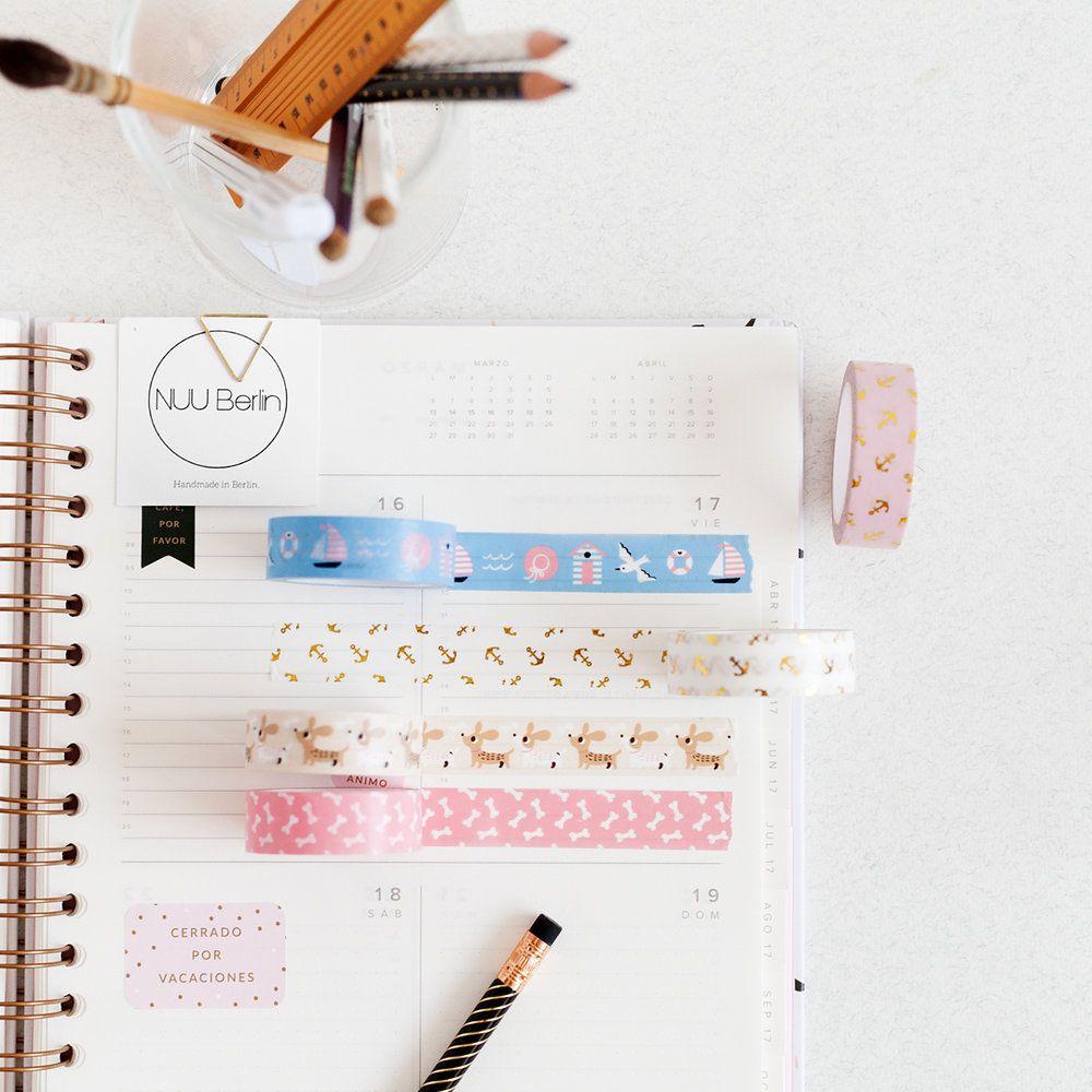 Papelterapia el arte de decorar tu agenda charuca blog - Como decorar una agenda ...