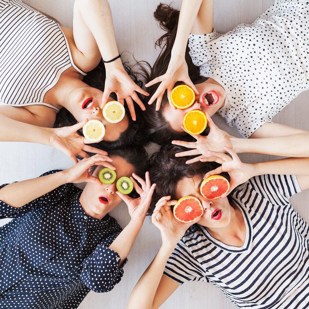 Con MelonBlanc, vitaminándonos ;)